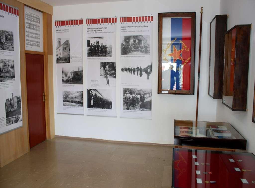 11 Detalj zbirke o legendarnem  kozjanskem partizanskem odredu